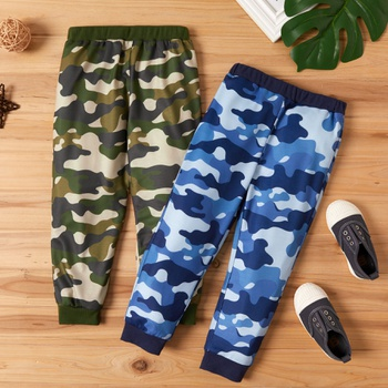 Toddler Boy Camouflage Casual Harem Pants