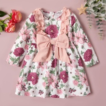 Toddler Girl Floral Dress