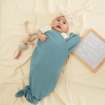Newborn Baby Blankets Muslin Squares Bath Swaddle Soft Cotton Wrapples
