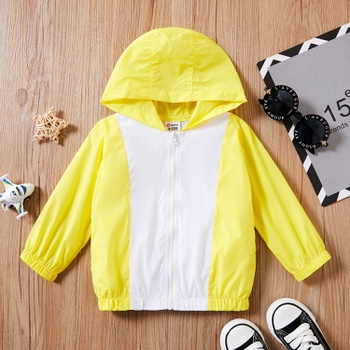 1pc Baby Unisex Long-sleeve Hooded casual Coat & Jacket
