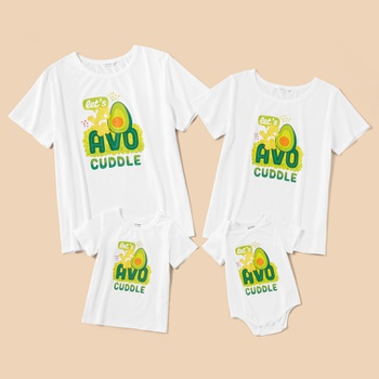 Care Bears Avocuddle Cotton Family Tees and Onesie