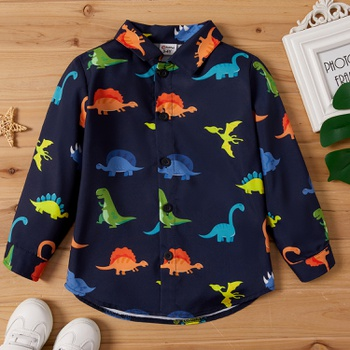 Toddler Boy Dinosaur Shirt