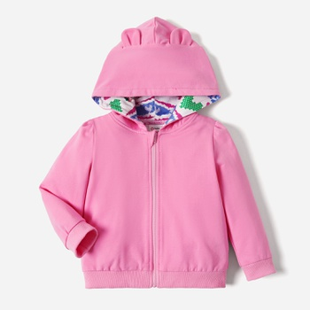 Care Bears Baby Girl Cotton 3D Bear Ears Hoodie/Coat