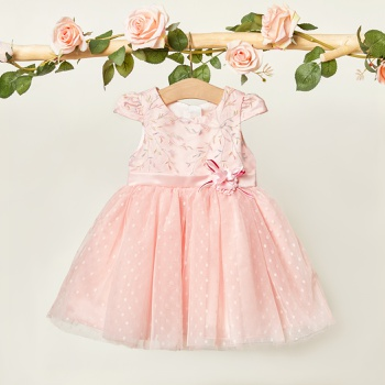 1pc Sleeveless Baby Girl elegant Floral Costumes & Formal Dresses & Tuxedos