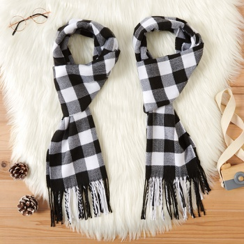 Plaid Scarves for Mommy and Me