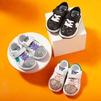 Toddler / Kid Star Letter Velcro Closure Sports Shoes
