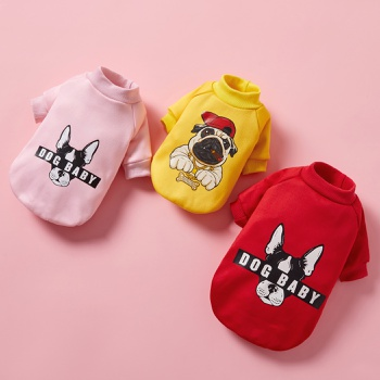 Pet cartoon sweater