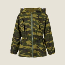 Kids Boy Camouflage Hooded Jacket Coat