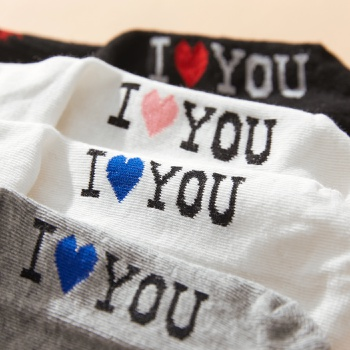 Baby / Toddler / Kid Love Letter Socks