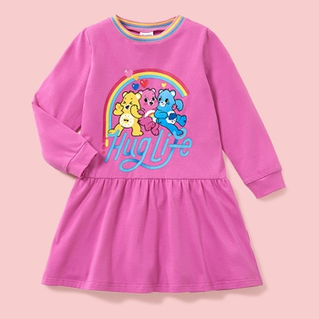 Care Bears Hug Life Cotton Dress