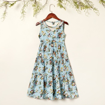 Kids Girl Flower Allover Dress