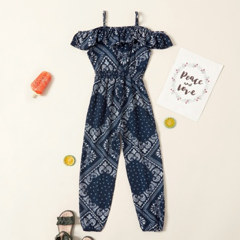 1 pc Kid Girl Casual Sling Rompers