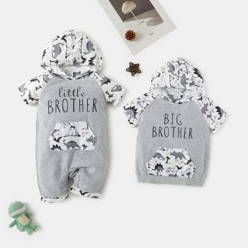 Mosaic Casual Letter Animal Print Sibling outfits Sets