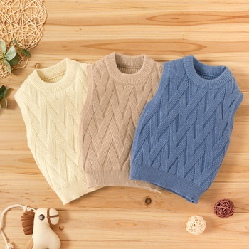 Baby Unisex Solid Sweaters