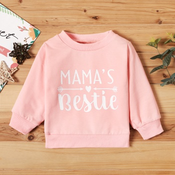 Baby Girl Letter Pullovers & Hoodies
