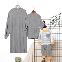 Solid Round Neck Sweater Dresses for Mommy and Me