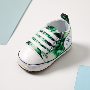 Baby / Toddler Dyed Canvas Prewalker Shoes