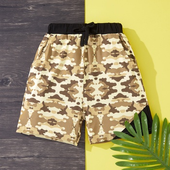 Toddler Boy Casual Camouflage Print Shorts