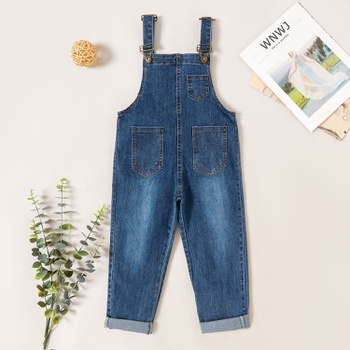 Stylish Casual Denim  Overalls