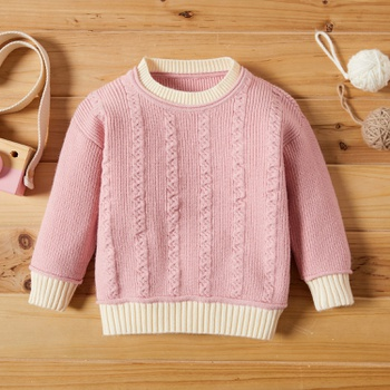 Baby Girl casual Sweaters Knitted Cotton Fashion Long Sleeve Infant Clothing Outfits