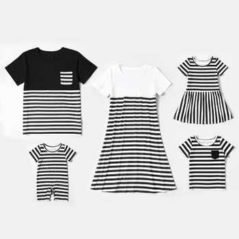 Black and White Stripe Series Sets
