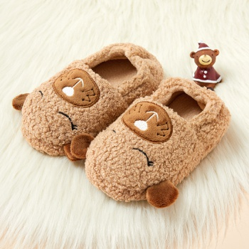 Toddler / Kid Cartoon Animal Fleece Slippers