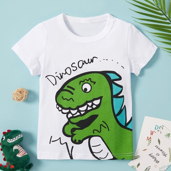 Baby / Toddler Boy Adorable Dino Print Tee