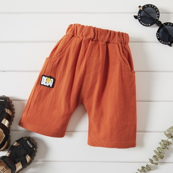 1pc Baby Boy casual Cotton Letter Shorts