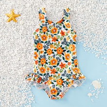 Baby / Toddler Daisy Pattern Swimsuit
