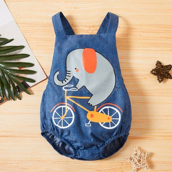 1PC Baby Cotton Unisex casual & Elephant Rompers & Bodysuits