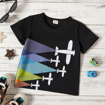 Toddler Boy Airplane T-shirt