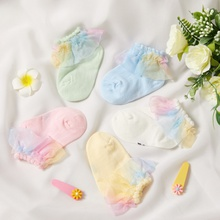 Baby / Toddler / Kid Mesh Flounced Socks