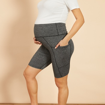 Maternity Solid Activewear Bottom