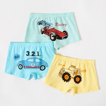 3-Pack Baby / Toddler Boy Car Print Panties