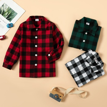 Toddler Boy Plaid Shirt