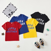 Toddler boy Casual Letter Tee