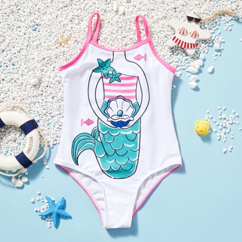 Pretty Kid Girl Mermaid Swimsuit