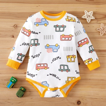 Baby Car Allover Romper