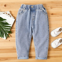 Baby / Toddler Solid Turn Jeans
