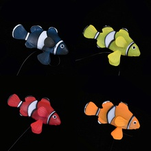 Plastic simulation fish ornamental fish luminous with suction cup