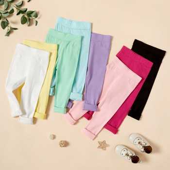 Baby / Toddler Colorful Solid Elasticity Leggings