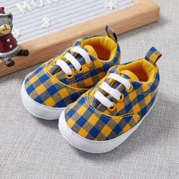 Baby / Toddler Grid Casual Prewalker Shoes