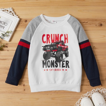 Kid Boy Casual Sweatshirt