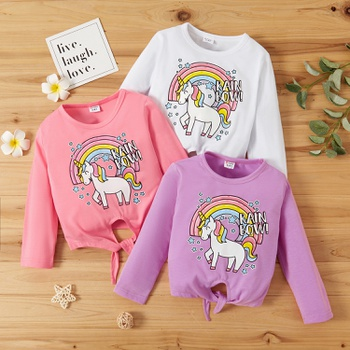 Toddler Girl Sweet Unicorn Tee