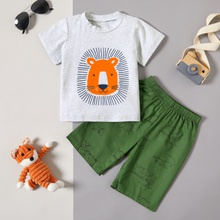 Baby / Toddler Lion Tee and Shorts Set