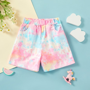 Baby / Toddler Tie Dyed Shorts