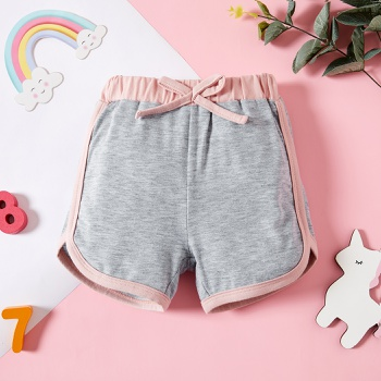 1pc Baby Girl Solid Cotton Spring Summer Baby Shorts