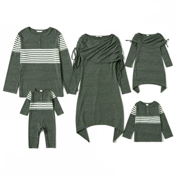 Mosiac Family Matching Dark Green Sets