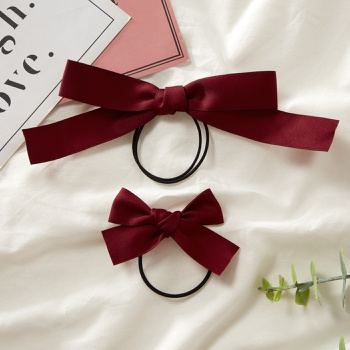 Multicolor Bowknot Hair Ring for Mommy and Me