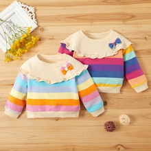 Baby Girl Striped Pullovers